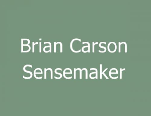 Brian Carson Sensemaker